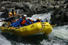 River Rafting Tour on the Clearwater River, BC