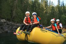 A Front Row Seat Through the Calm Waters of our Family Whitewater Trip