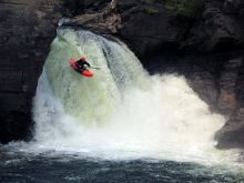 Kayaking Raft Falls