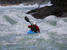 Whitewater Kayaking: Tyler