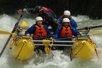 Whitewater Rafting BC