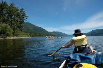 Canoeing in BC