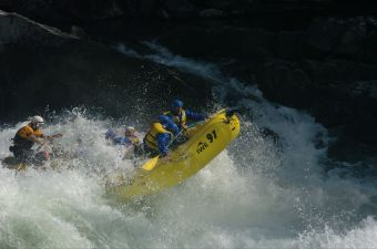 Whitewater Rafting in BC