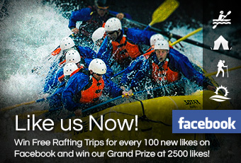Like us Now! Win our Grand Prize - Interior White Water Expeditions
